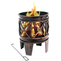 BBQ-Toro Feuerkorb Plum � 42 x 52,5 cm Feuerschale, Feuerstelle