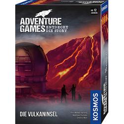 KOSMOS Adventure Games - Die Vulkaninsel Brettspiel