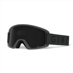 Giro Semi grey core - e ultra black/yellow