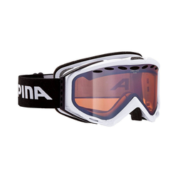 Alpina Sports Skibrille Skibrille Turbo white HM