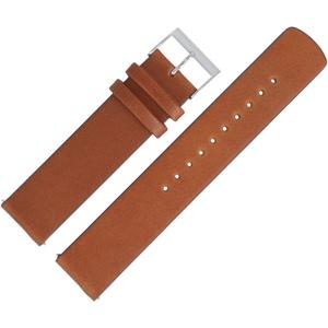 Skagen Uhrenarmband 20mm Leder Braun - SKW6355