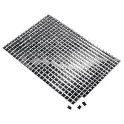 Rayher Mosaiksteine Spiegelmosaik selbstklebend nicht zum Verfugen 0,5 x 0,5 cm 1 Pack