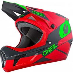 ONeal Sonus Deft S20 Fahrradhelm - Rot/Grau/GrüN - S