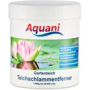Aquani Teichschlammentferner Gartenteich 1.000g wirkt effektiv gegen Teichschlamm im Teich Macht Schlammsauger überflüssig geruchsfreie Teichpflege auch für Koi und Schwimmteich