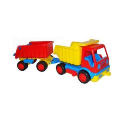 WADER QUALITY TOYS Outdoor-Spielzeug Wader Basics LKW mit Hänger, 33 cm