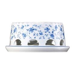 Arzberg Form 1382 Blaublüten Stövchen 2tlg. Form 1382 Blaublüten 41382-607671-15675