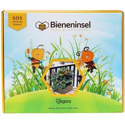 made2trade Blumenkasten BIENENINSEL, inkl. Futterpflanzensamen für Bienen
