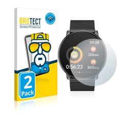 2x BROTECT® Flex Full-Cover Displayschutzfolie für Azorex Smartwatch Q88