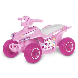 Elektrofahrzeug QUAD FORCE, Kinderfahrzeug Pink