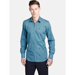 Shirtmaster Hemd tigerhead Shirtmaster blau