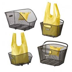 Basil Fahrradkorb Shoppertasche Basil Keep gelb, faltbar, geeignet