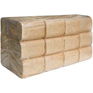 JSM-Brennholz - Kiefer Holzbriketts - 2 Pakete, 12 Briketts im Paket