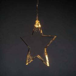 Konstsmide Lichtervorhang-Sterne Innen/Außen 3V 8 LED