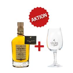 Slyrs Single Malt Whisky & Nosing-Glas