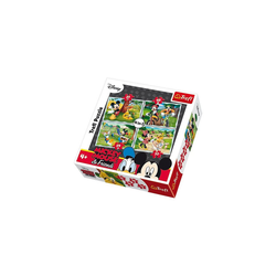 Trefl Puzzle 4in1 Puzzle - 35/48/54/70 Teile - Micky Maus, Puzzleteile