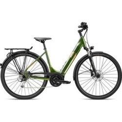 Breezer Powertrip Evo 1.5+ LS 700c E-Bike Damenrad 28 Zoll Pedelec Damen Senioren Elektrofahrrad... 55 cm, grün/messing