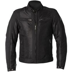 Helstons Spring Motorcycle Textile Jacket, black, Größe 5XL