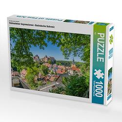 Hohnsteiner Impressionen -Sächsische Schweiz Lege-Größe 64 x 48 cm Foto-Puzzle Bild von NJ Puzzle