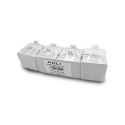 ARLI ARLI Abzweigdose 75 x 75 x 40 mm Industriegehäuse Leergehäuse Verteilerkasten aufputz Dose Steckdosenverteiler