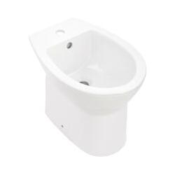 ® Universal - Bidet aus Keramik mit Hahnloch und Überlauf in Weiß zur stehenden Montage - 06AB3489