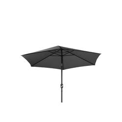 Ribelli Sonnenschirm, Sonnenschirm, grau, 270 cm grau