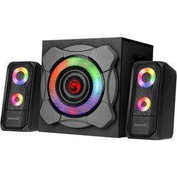 MARVO Bluetooth u. RGB LED 2.1 Soundsystem (Bluetooth, SG-290BT)