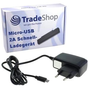 2A Hochleistungs Schnell-Ladegerät Netzteil Ladekabel Micro-USB für Archos Saphir 50 Titanium 50b Cobalt Lite 50b Platinum 50c Neon 50c Oxygen 50c Platinum 50d Neon 50d Oxygen 50e Helium 50e Neon 50f