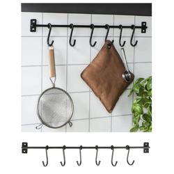 Wandhaken Hakenleiste Küchenleiste Küchenreling Wandhaken Kleiderhaken Ib Laursen 0560 25, Ib Laursen