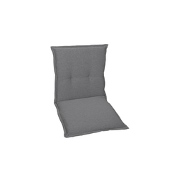 GO-DE Garten-Sesselauflage in grau, Niederlehner