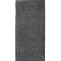 Ross Cashmere 9008 Handtuch 50 x 100 cm anthrazit