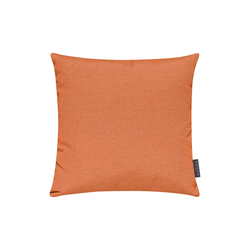 Magma Kissenhuelle Fino in orange, 40 x 40 cm