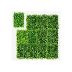 Kunstpflanze 12Stk. Künstliches Pflanzenwand, Heckenpflanze, COSTWAY, für Garten Dekor, 60x40cm 40 cm x 60 cm