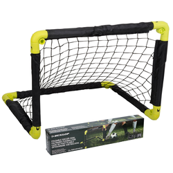 Dunlop Fußballtor 2X Fußballtor Set 2 Tore 50 cm mit Netz Fußballspiel Garten (Set), ca.: 50 x 44 cm