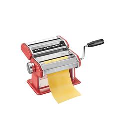 GEFU Nudelmaschine Pastamaschine PASTA PERFETTA, Pastamaschine rot