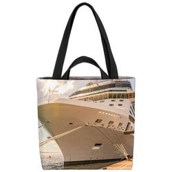 VOID Henkeltasche (1-tlg), Kreuzfahrtschiff Hafen Schiff Kreuzfahrt Kreuzfahrtreise Reise Boot