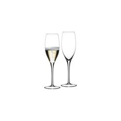 RIEDEL Glas Champagnerglas Sommeliers Glas Jahrgangschampagner 2er Set - 265 Jahre, Glas