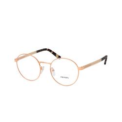 Prada HERITAGE PR 52XV SVF1O1, inkl. Gläser, Runde Brille, Damen