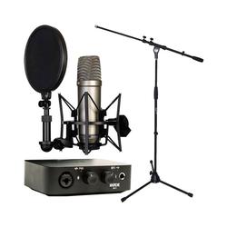 RODE Microphones Mikrofon Rode NT1-A + AI-1 Interface + Stativ