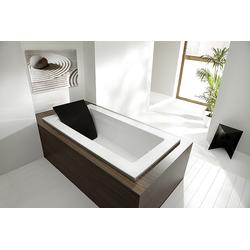 Hoesch Zero Badewanne 6627.010 170 x 90 cm, weiss, mit Rückenlehne