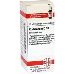 CORTISONUM D 10 Globuli 10 g