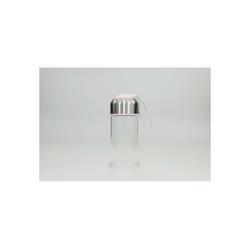 HTI-Line Trinkflasche Trinkflasche Glas, Trinkflasche rosa