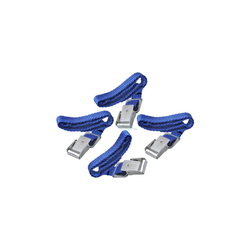 4 Stück Spannriemen mit Metallschnalle 40cm Riemen Fahrradträger