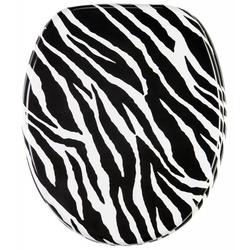 WC-Sitz Zebra