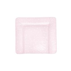 Julius Zoellner Wickelauflage Softy in rosa und weiß, B/T ca. 75 x 85 cm