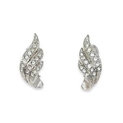 NEUMANN Paar Ohrclips Ohrclips Damen ohne Ohr-Löcher Vanessa (mit Swarovski Kristallen), mit Geschenktüte, Geschenke für Frauen Valentinstag