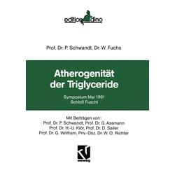 Atherogenität der Triglyceride als Buch von W. Fuchs/ P. Schwandt