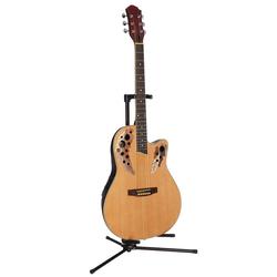 Akustikgitarre Roundbackgitarre 4/4 mit Equalizer 4/4 natur
