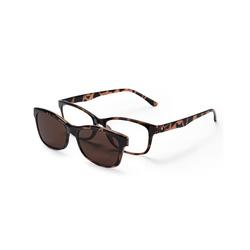 Lesebrille mit Sonnenbrillenaufsatz - Tchibo - Braun