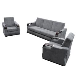Komplet wypoczynkowy Samalina kanapa i dwa fotele