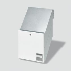 Siedle BKV 611-3/3-0 W Durchwurfbriefkasten für Mauereinbau (200016965-00)